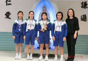 嘉諾撒聖家學校(九龍塘)水運會–友校接力邀請賽
